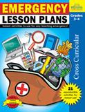 Emergency Lesson Plans: Grades 3,4 (Enhanced eBook)