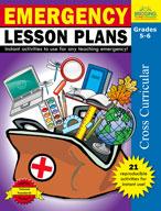 Emergency Lesson Plans: Grades 5,6 (Enhanced eBook)