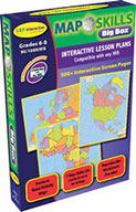Map Skills: IWB Big Box (eBooks and Files)