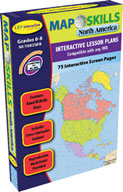 Map Skills: North America