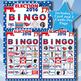 ELECTION 2016 5x5 BINGO 30 CARDS