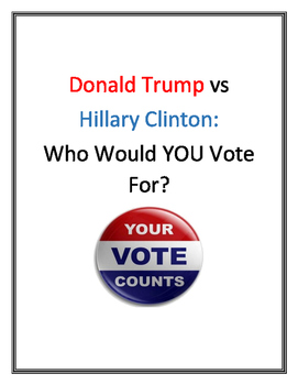 ELECTION 2016!  Clinton or Trump?