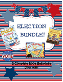 ELECTION BUNDLE!  Three Book Response Journals in One!