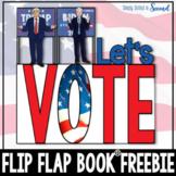 ELECTION DAY FREEBIE Flip Flap Book ®