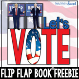 ELECTION DAY FREEBIE Flip Flap Book ®