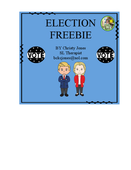 ELECTION FREEBIE