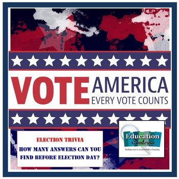 ELECTION TRIVIA QUESTIONS