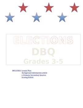 ELECTIONS DBQ