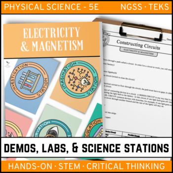 ELECTRICITY & MAGNETISM - Demos, Lab and Science Stations