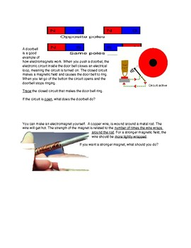 ELECTROMAGNETS for ELL or SPED