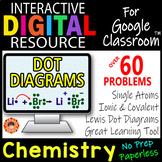ELECTRON DOT DIAGRAMS  ~Interactive Digital Resource for Google Classroom~