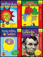 Logic Book Bundle Grade 3-4 (Four Enhanced eBooks)