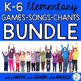 Elementary Brain Breaks, Games, Songs, Rules, and Manners Activities K-6 BUNDLE