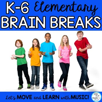 Elementary Brain Breaks and Games K-6