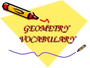 ELEMENTARY GEOMETRY VOCABULARY