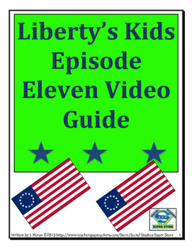 ELEMENTARY- Liberty's Kids Video Guide #11-Washington Takes Command