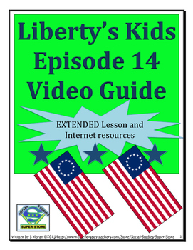 ELEMENTARY- Liberty's Kids Video Guide #14-New York, New York
