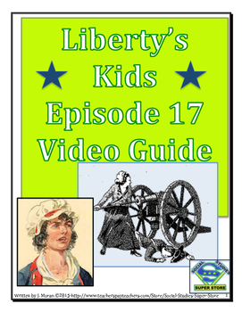 ELEMENTARY- Liberty's Kids Video Guide #17- Captain Molly