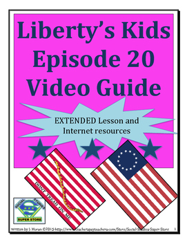 ELEMENTARY- Liberty's Kids Video Guide #20 An American In France