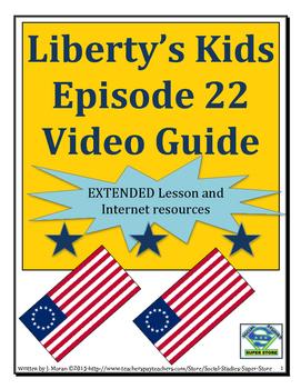 ELEMENTARY- Liberty's Kids Video Guide #22 Lafayette Arrives