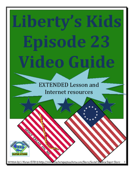 ELEMENTARY- Liberty's Kids Video Guide #23 The Hessians Ar