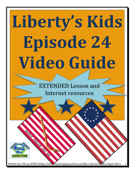 ELEMENTARY- Liberty's Kids Video Guide #24 Valley Forge