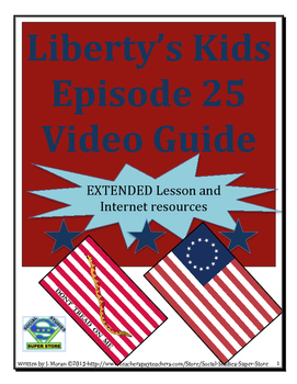 ELEMENTARY- Liberty's Kids Video Guide #25-Allies at Last