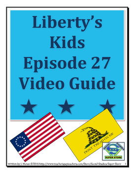 ELEMENTARY- Liberty's Kids Video Guide #27- The New Frontier