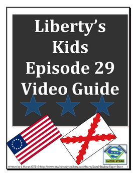 ELEMENTARY- Liberty's Kids Video Guide #29 - The Great Galvez