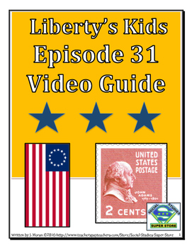ELEMENTARY- Liberty's Kids Video Guide #31 - The Bostonians