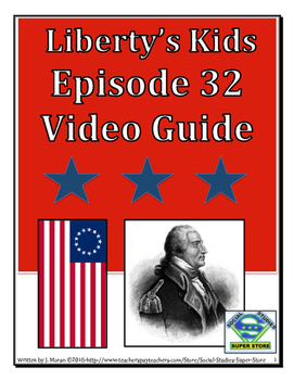 ELEMENTARY- Liberty's Kids Video Guide #32 - Benedict Arnold