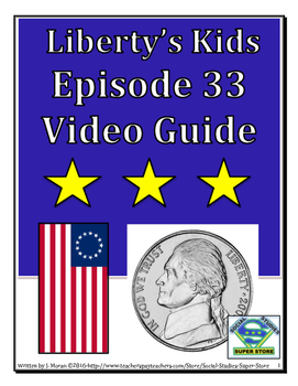 ELEMENTARY- Liberty's Kids Video Guide #33 - Conflict in the South