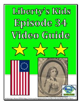 ELEMENTARY- Liberty's Kids Video Guide #34 - Deborah Sampson Solider of the Rev.