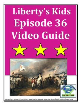 ELEMENTARY- Liberty's Kids Video Guide #36 - Yorktown