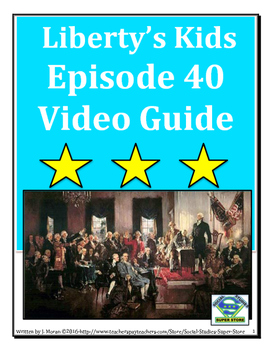 ELEMENTARY- Liberty's Kids Video Guide #40 - We The People