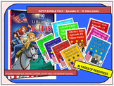 ELEMENTARY- Liberty's Kids Video Guide Super Bundle Pack #31 - #40