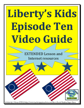 ELEMENTARY- Liberty's Kids Video Guide #10- Postmaster Gen
