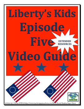 ELEMENTARY- Liberty's Kids Video Guide #5- Midnight Ride