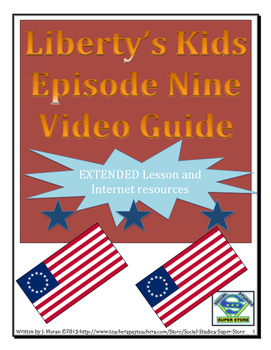ELEMENTARY- Liberty's Kids Video Guide #9-The Battle of Bu