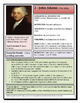 ELEMENTARY/MIDDLE SCHOOL- Presidential Profile: John Adams