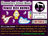 ELEMENTARY MUSIC Listening Activities 25-Pack BUNDLE DISTA