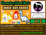 ELEMENTARY MUSIC Listening Activities SET 5 Female Composers