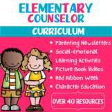 ELEMENTARY SCHOOL COUNSELOR CURRICULUM (40 PRODUCTS)