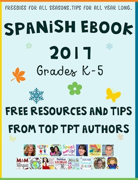 ELEMENTARY SPANISH EBOOK 2017- Tips and Free Resources