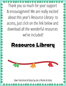 ELEMENTARY SPANISH Library 2019- Tips and Free Resources