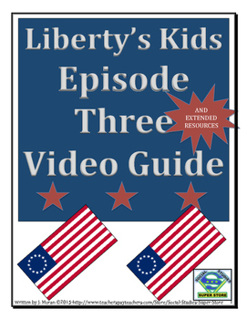 ELEMENTARY- Liberty's Kids Video Guide #3- United We Stand