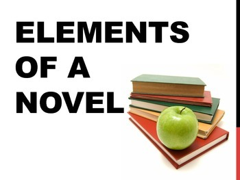 ELEMENTS OF A NOVEL POWER POINT