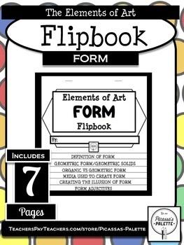 ELEMENTS OF ART FLIPBOOK- FORM