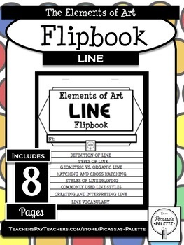 ELEMENTS OF ART FLIPBOOK- LINE