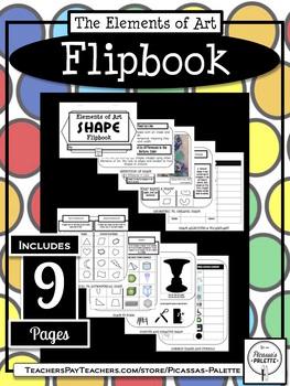 ELEMENTS OF ART FLIPBOOK- SHAPE